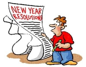 Resolutions, 2014 – Here's why your New Year's Resolutions are destined to FAIL!