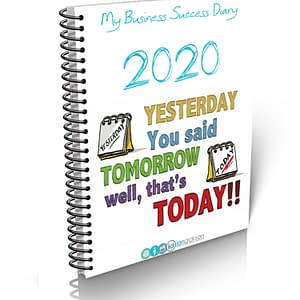 2020 Success Diary Image