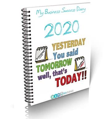 2020 Success Diary Image