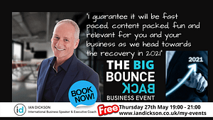 Business Bounce back event