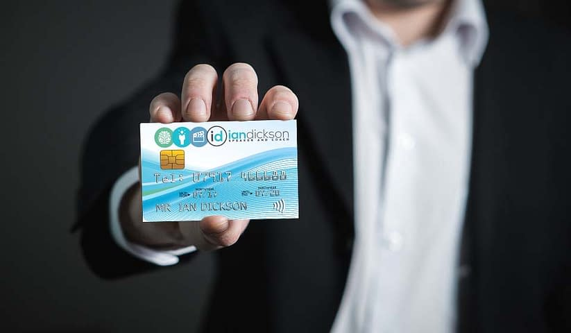 Business cards, It's time to break out your business cards again!